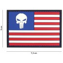 TOPPA 3D GOMMA PUNISHER USA FLAG