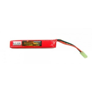 BATTERIA LIPO 11.1V 1300mAh TUBO BILLOWY