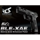 PISTOLA GAS SCARRELLANTE XAE BLACK ICS